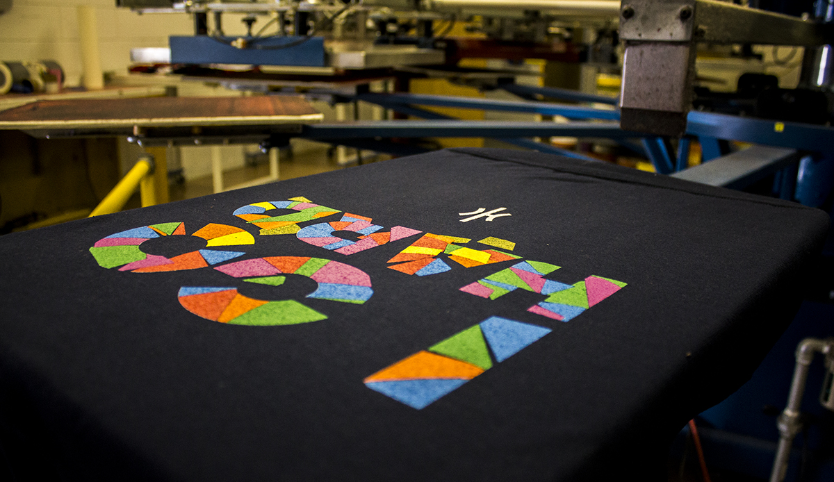 Up to 6 Color Screen Printed T-Shirts