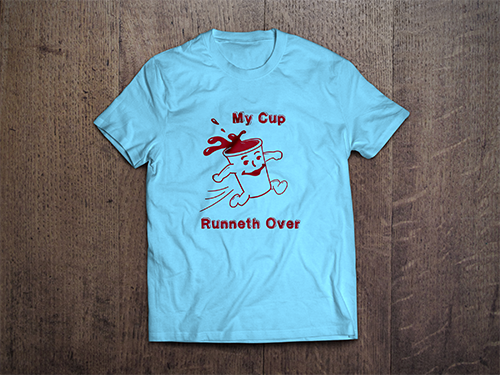 T-Shirt Mock-Up | My Cup