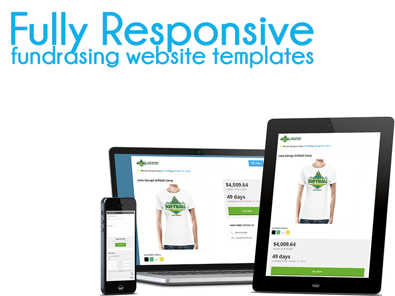 Fully Responsive Fundraising Website