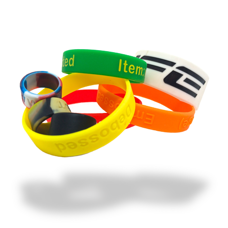 Custom Rubber Bracelets