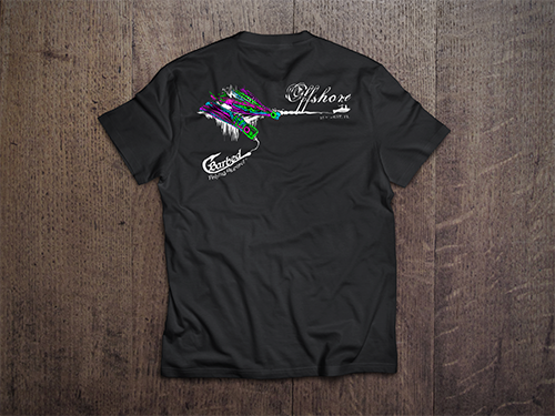 Custom T-Shirt Mock-Up | Barbed Fishing Apparel
