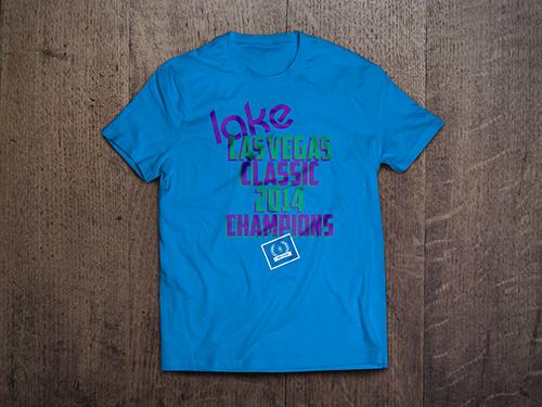 Custom T-Shirt Mock-Up | Lake Las Vegas Classic