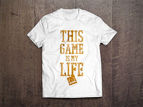 Custom T-Shirt Mock-Up | Hoop Culture - This Game Is My Life