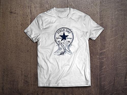 Custom T-Shirt Mock-Up | Seminole Springs Elementary Field Day