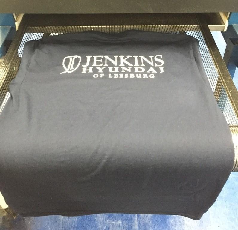 Jenkins Hyundai Company Shirt