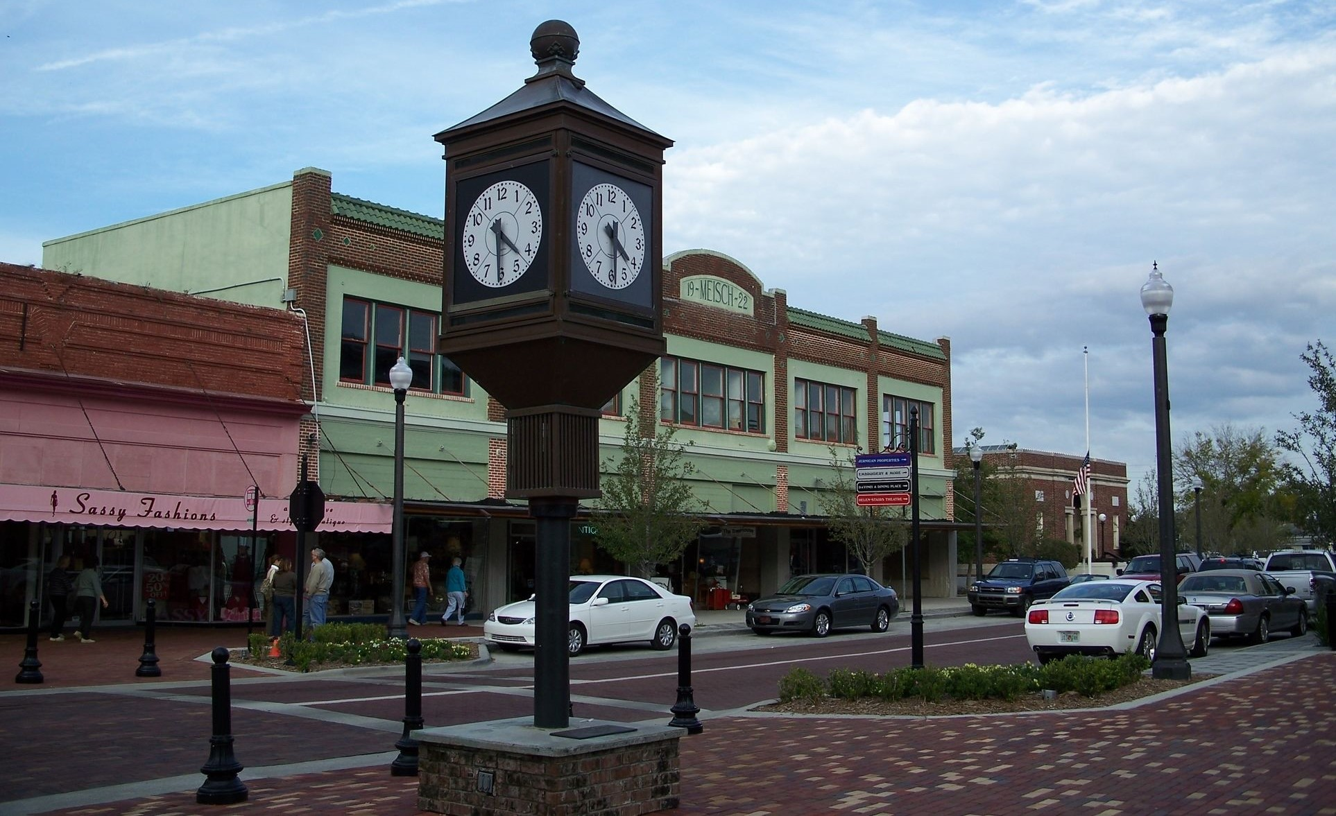 sanford downtown_clock