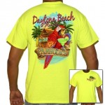 Digitally Printed T-Shirts New Smyrna Beach- Parrot