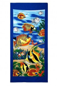 Beach Towel Sublimation, Custom Embroidery, Umatilla